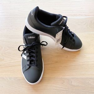 ADIDAS grand court base black men's sneaker